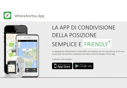 Stiamo al sicuro grazie all'app Where Are You
